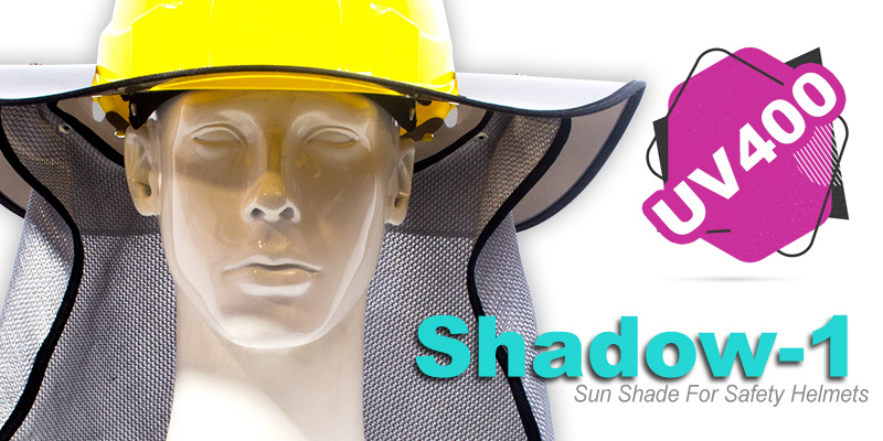 Neck , Flap , Shadow-1 , DWARF Series , Safety , Helmet , Persian Safety , پارچه , پشت گردن , آفتابگیر , پرشین سیفتی , دورف , کلاه ایمنی ,